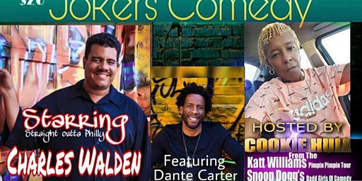 """THE PRIVATE I JOKERS COMEDY PRESENTS: """"CHARLES WALDEN"""" STRAIGHT OUTTA PHILLY"""