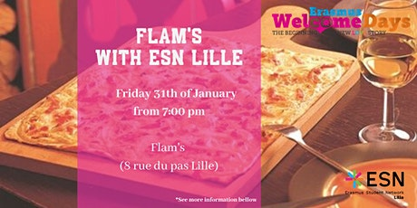 Welcome DAYS : ◄ Flam's ► With ESN Lille billets