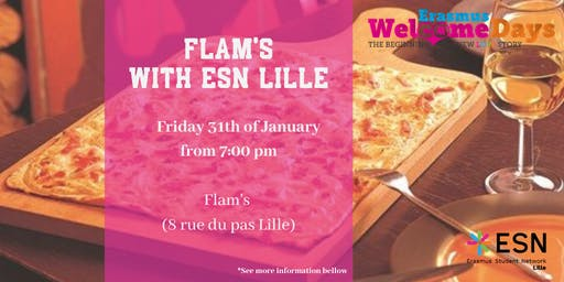 Welcome DAYS : ◄ Flam's ► With ESN Lille