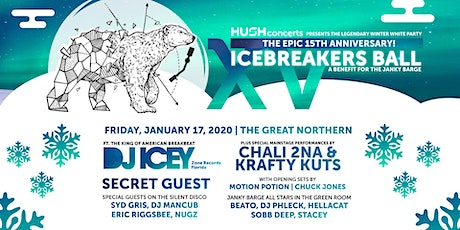 15th Anniv Icebreaker's Ball w/DJ Icey Chali 2na Krafty Kuts +Secret Guest tickets