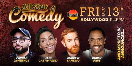 Jade Catta-Preta, Ruben Paul, and more - Special Event:  All-Star Comedy tickets