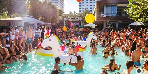 SLS SOUTH BEACH POOL PARTY MIAMI FLORIDA GENERAL ADMISSION EARLY BIRD SALE