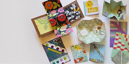 CRAFTING: The Art of Folded Paper Cards with April Trickel