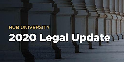 [Fresno] HUB University: 2020 Legal Update