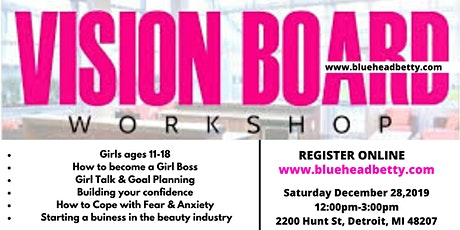 Teen Vision Board Party tickets