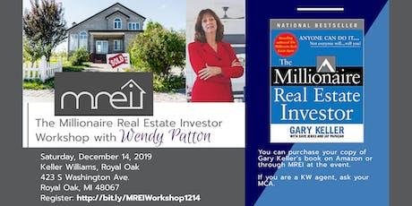 The Millionaire Real Estate Investor Workshop tickets