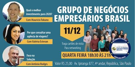 11-12 Reunião do grupo de negócios- Empresários Brasil
