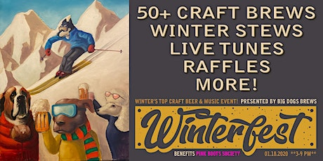 """BIG DOG'S """"WINTERFEST BEER & MUSIC PARTY"""" 2020 tickets"""