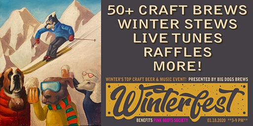 """BIG DOG'S """"WINTERFEST BEER & MUSIC PARTY"""" 2020"""