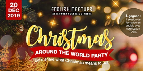 Christmas Around the World Party billets