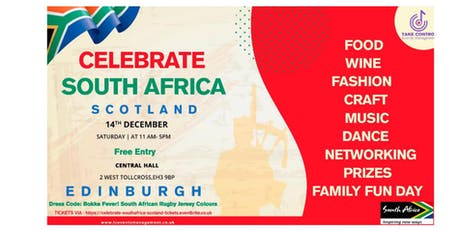 Celebrate South Africa Scotland tickets