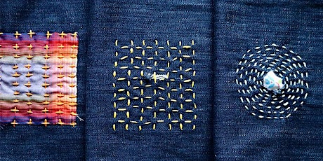 CLASS FULL - Sashiko Style Mending workshop at Ragfinery tickets