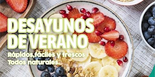 """TALLER GRATUITO """" Desayunos de Verano """" -"""