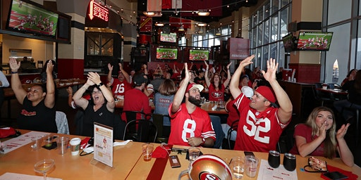49ers Watch Party at Bourbon Pub