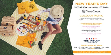 New Year's Day Veuve Clicquot Picnic  - Jan. 1st, 2020 entradas