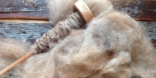 Beginning Spinning: Drop Spindle to Wheel workshop at Ragfinery