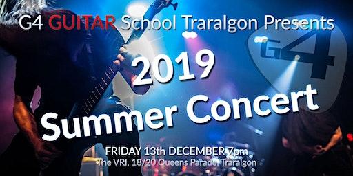 G4 Guitar School 2019 Summer Concert