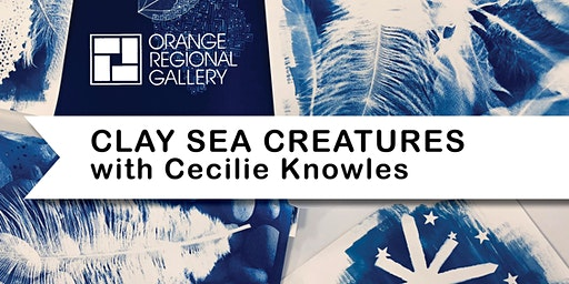 SCHOOL HOLIDAY WORKSHOP - MYSTERIOUS CLAY SEA CREATURES with Cecilie Knowles