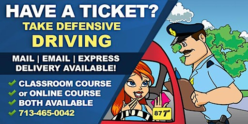 Comedy Driving Defensive Driving Course (Sugar Land)