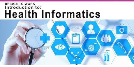 **January 16th** Health Informatics Bridging Program Info Session tickets