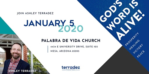 Ashley Terradez at Palabra de Vida Church