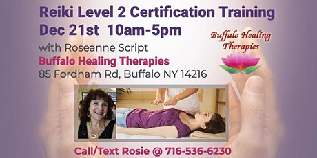 Reiki Level 2 Certification Training tickets