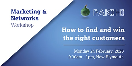 Pakihi Workshop: Marketing & Networks - New Plymouth tickets