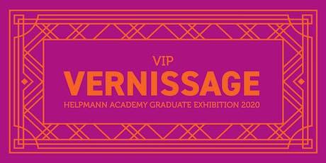 VIP VERNISSAGE 2020 tickets