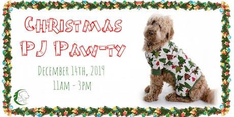 Christmas PJ Paw-ty tickets