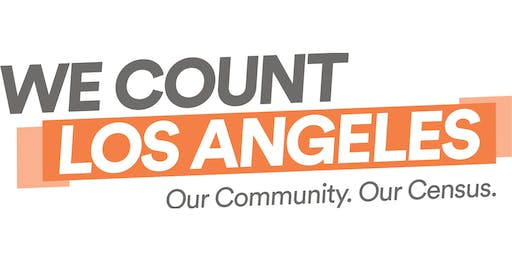 We Count LA Census Table Meeting