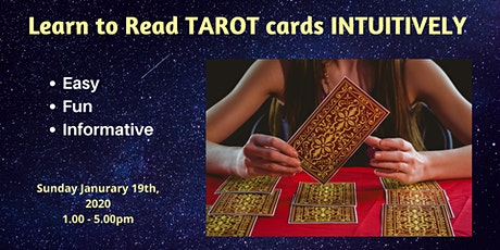 Learn to read Tarot Cards Intuitively tickets