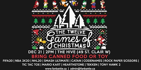 FanBattle Presents: The 12 Games of Christmas tickets