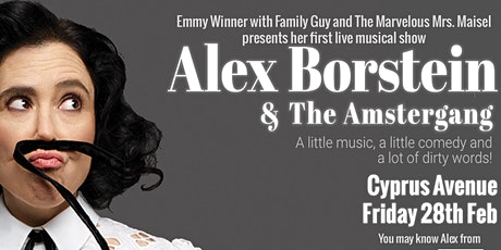 ALEX BORSTEIN & The Amstergang tickets