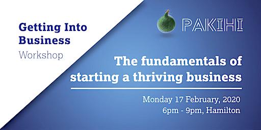 Pakihi Workshop: Getting Into Business - Hamilton