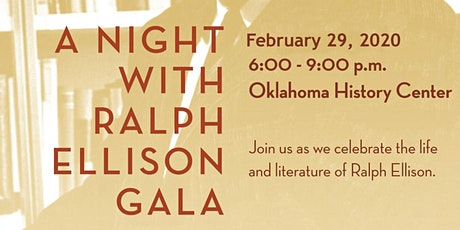 A Night with Ralph Ellison Gala tickets
