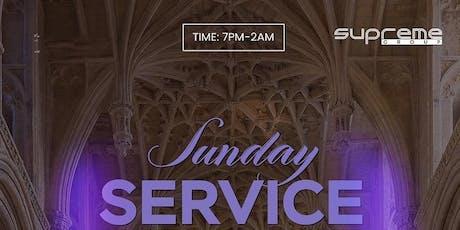 #SundayService ⛪️ December 15th 7pm-2am tickets