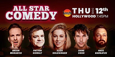 Patton Oswalt, Iliza Shlesinger, Nate Bargatze, and more - All-Star Comedy tickets