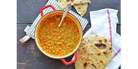 Indian Bread Classes including Rotis, Naan stuff paratha accompanying with curry (04-12-2020 starts at 6:30 PM) tickets