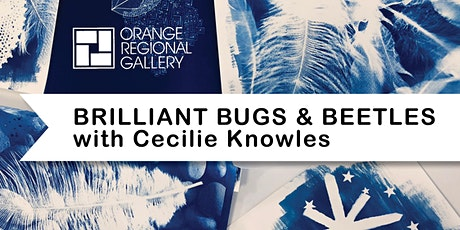 SCHOOL HOLIDAY WORKSHOP - BRILLIANT BUGS AND BEETLES – with Cecilie Knowles tickets