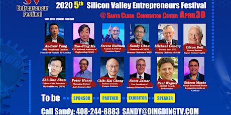 2020 Silicon Valley Entrepreneur Festival tickets