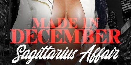 *12/13 MADE IN DECEMBER SAGITTARIUS AFFAIR w/ POWER 105.1 DJ NORIE @ AMADEUS tickets