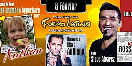 Soirée Latine (Levée de fond) Hommage a Marc Anthony ! billets
