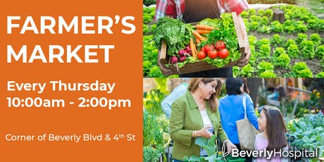 Farmer's Market At Beverly Hospital tickets