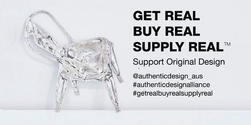 GET REAL!!  How fake products & fast design cripple the design economy!