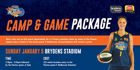 Camp and Game package proudly brought to you by Brydens Lawyers tickets