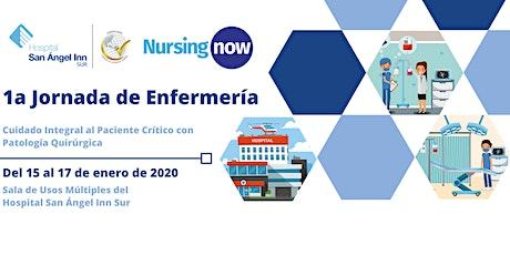 1a Jornada de Enfermería, Hospital San Ángel Inn Sur entradas