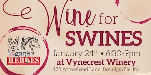 Wine For Swines! Painting!