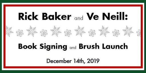 Rick Baker Book Signing & Ve's Favorite Brushes Soft Launch