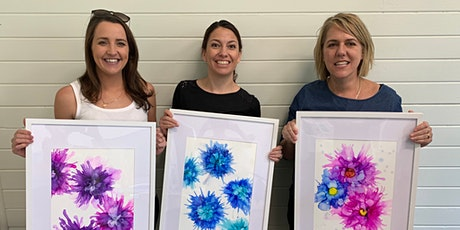 Alcohol Ink Art Workshop in Jervis Bay tickets