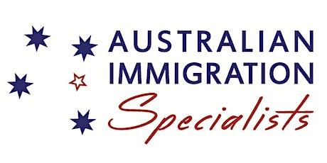 Employer Sponsorship + PR Visa options! tickets